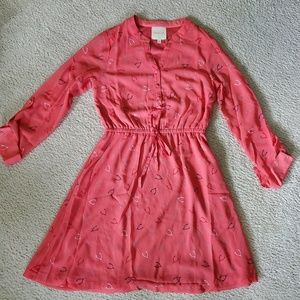 Modcloth wishbone dress